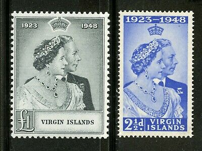 Virgin Islands   1948   Scott # 90-91   Mint Lightly Hinged Set