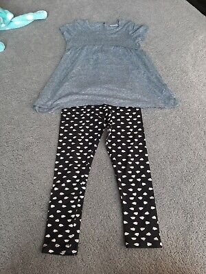 New Girls Next Tunic & Leggings Outfit Age 7 Years