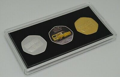 Only Fools And Horses 50P Coin Collectors.trio Set In Presentation Case.