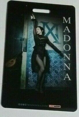 MADONNA London Palladium lanyard feb 15th
