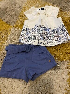 Marks and Spencer's Girls shorts set 3yrs