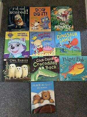 10x Childrens Story Books for Approx Ages 4-6 Years