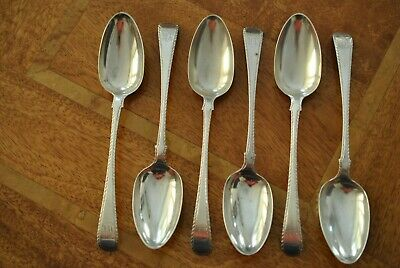 A Fabulous Set Of Six Tablespoons Made In London 1771 By Hester Bateman