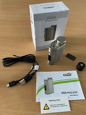 AUTHENTIC ELEAF PICO 100W 21700 26mm BRUSHED SILVER
