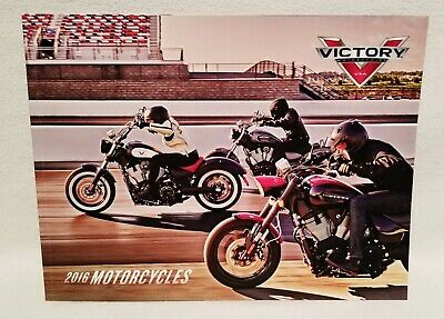 Mint 2016 VICTORY motorcycles all models SALES BROCHURE