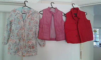 Girls F&F Floral Waterproof Jacket George Lands End Body Warmer Ages 5 6 7 9 10