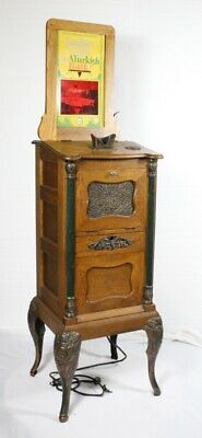 Antique Cail-O-Scope Coin operated 3 D Viewing Machine - Circa 19th Century