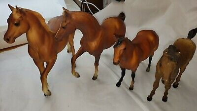 Lot Of Four Breyer Horse Figurines