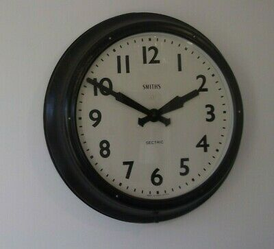Smiths Sectric Industrial Engineering Railway Style Clock. Extra Large. DH6