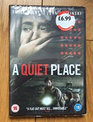A Quiet Place - DVD (2018) Cert 15 Emily Blunt BRAND NEW IN WRAP