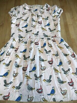 Mini Boden Girls Bird Dress Age 11-12 Years