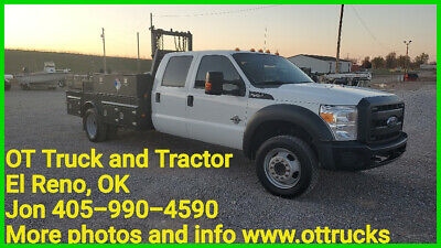 2015 Ford F-550 Chassis XL 2015 Ford F-550 Crew Cab 11ft Flatbed 6.7L Diesel RWD F550