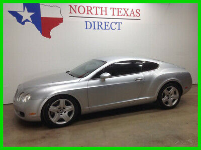 2004 Bentley Continental GT FREE DELIVERY GT Sport Twin Turbo V12 AWD Performa 2004 FREE DELIVERY GT Sport Twin Turbo V12 AWD Performa Used Turbo 6L W12 48V