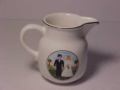 "Villeroy & Boch Naif The Wedding 3 1/2"" Creamer"