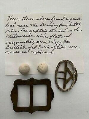 Relics from the Battle of Bennington