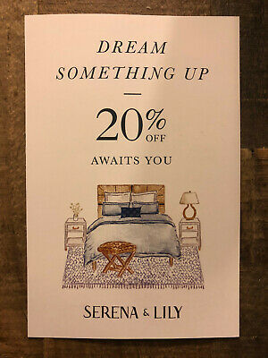 Serena & Lily 20% Off Coupon - Expires 6/10/2020