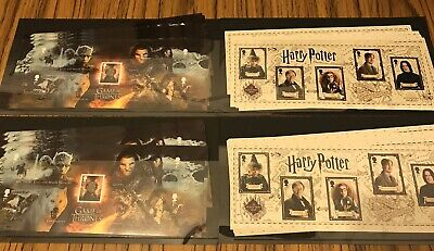 200 1st Class Self Adhesive Stamps Postage FV £152 Harry Potter Game Of Thrones