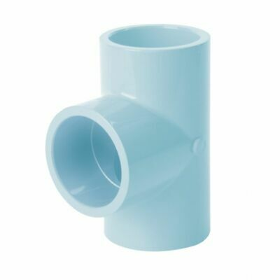 10 Durapipe AirLine Compressed Air Tee Connection Junction Pipe 40mm DN32 PN12.5