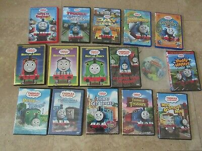 Lot, 16 Thomas & Friends train DVD's videos