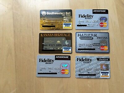6 MasterCard and Visa-Southwestern Bell, Kansas Heritage, First USA, Fidelity