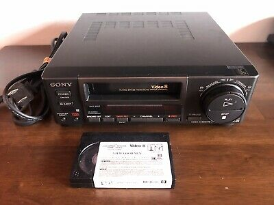 SONY EV-A50 video 8 8mm VCR editing player - tested works video8