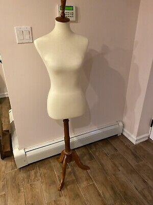 Wood Base Mannequin