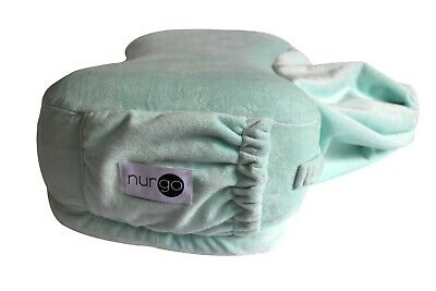 Nurgo Travel Nursing Pillow-Portable breastfeeding pillow for mothers on the go
