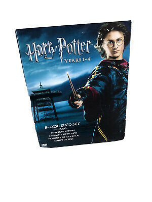Harry Potter Complete 8-Film Collection DVD 2011 8-Disc Set Best Deal Nice