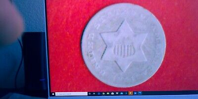 1851 O Three Cents Silver,Fine Details,Rare,(5000)