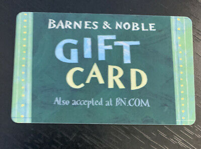 $107.68 Barnes & Noble Bookstore Gift Card- Physical Card