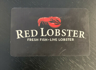 $50 Red Lobster Gift Card- Physical Card