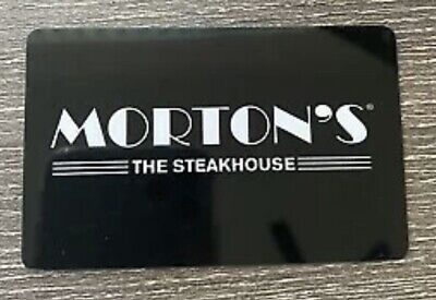 $50 Morton's The Steakhouse Gift Card - Physical Card