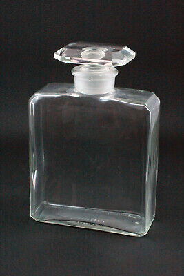 """LARGE VINTAGE CHANEL PERFUME BOTTLE 5.5"""" TALL.1950s."""