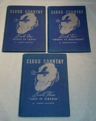 Cloud Country Books 1-3 1936 Hardcover James Mattern
