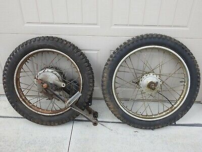 1973 Indian Enduro Wheels