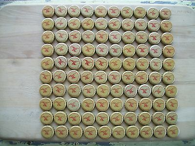100 Yuengling Beer Bottle Caps No Dents (Americas Oldest Brewery)(Crafts)