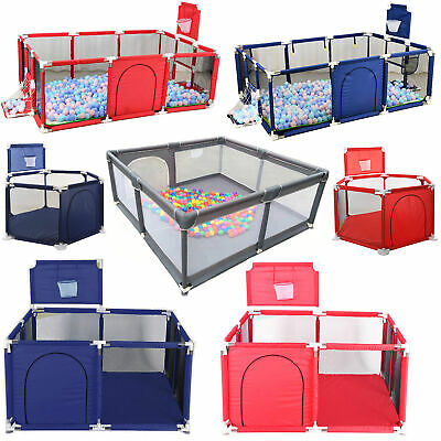 Kids Baby Playpen Safety Play Yard Activity Center Foldable Indoor Outdoor Toys
