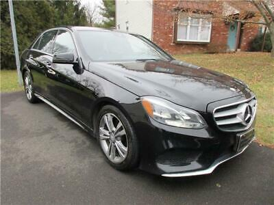 2015 Mercedes-Benz E-Class E 250 BlueTEC Luxury 4MATIC DIESEL E 250 BlueTEC DIESEL 4 CYLINDERS 2.1L AWD NAV CAMERA UP TO 43 MPG BLACK ON BLACK