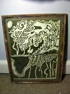 Framed Outsider art Lot 003