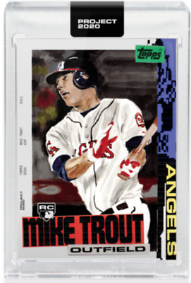 Topps Project 2020 #85 Mike Trout Los Angeles Angels - Jacob Rochester PRESALE