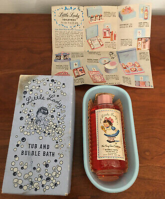 Vintage Little Lady Tub And Bubble Bath Helen Pessl Inc