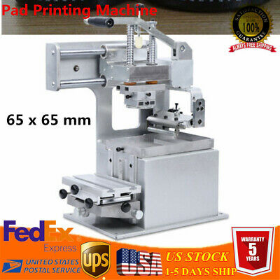 "Manual Pad Printer, Pad Printing Machine, Label Logo DIY Transfer 2.6"" x 2.6"""