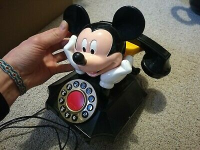 Mickey Mouse Desk Telephone