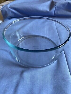Pyrex Glass Bowl Pudding Mixing Souffle Salad Trifle Dish