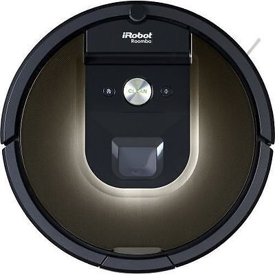 NEW iRobot Roomba 980 Bagless Floor Vacuum Cleaning Robot Vac Wi-Fi Connected