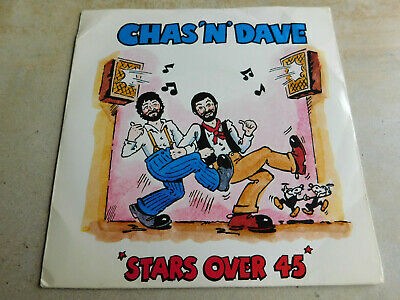"""Chas N Dave Stars Over 45 7"""" P/S Single Towerbell 1981 Ex Condition.."""