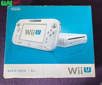 *No Console* Nintendo Wii U Box Packaging + Inserts Only White 8Gb Basic Pack