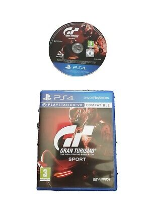 Ps4 GRAN TURISMO The Real Driving Simulator Sport Great Condition