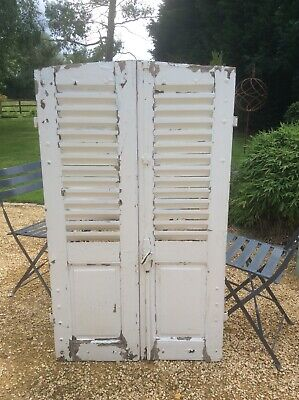 French Antique Window Shutters Authentic Reclaimed & Rustic
