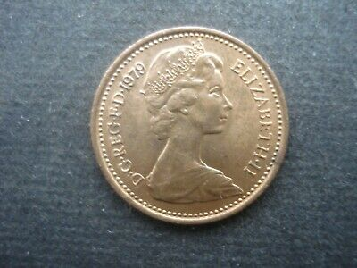 Very Fine Old Decimal Half Pence Coin Great Britain 1979
